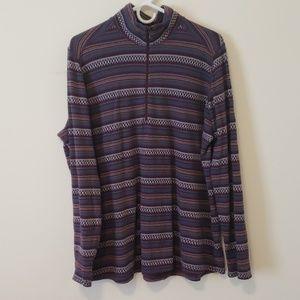 Woolrich womens 1/4 zip light sweatshirt